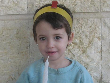 Adele 3-year old terror victim