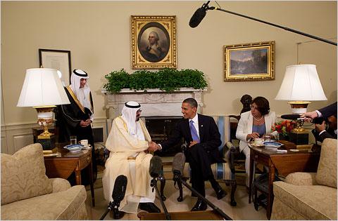 Obama-re saudita