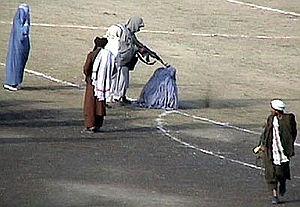 Taliban_execute_Zarmeena_in_Kabul_in1999_RAWA