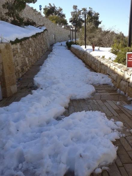 neve ingresso Yad Vashem