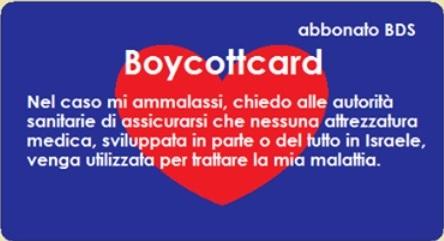 Boycottcard