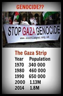 genocidio Gaza
