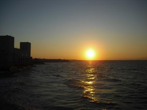 Trani tramonto