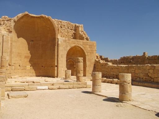 Shivta basilica
