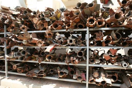 Qassam-Rockets-Sderot