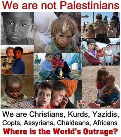 not palestinians