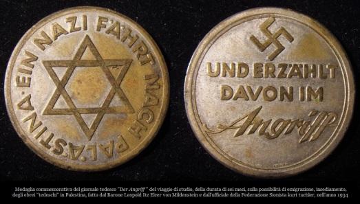 medagliaviaggiopalestinader-angriff1934