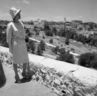 Marlene Ditriech in Jerusalem