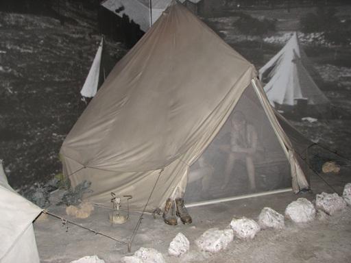 tenda museo Palmach