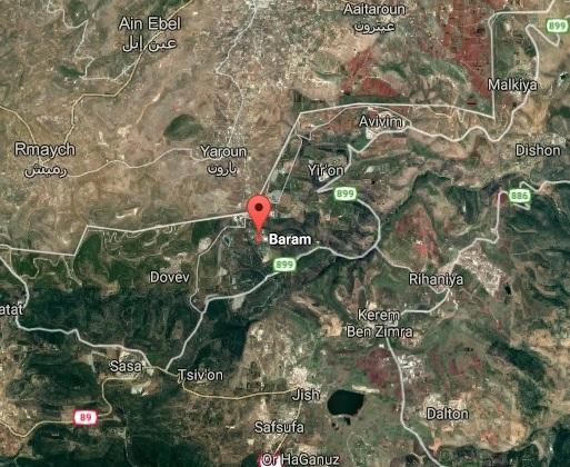 mappa Baram