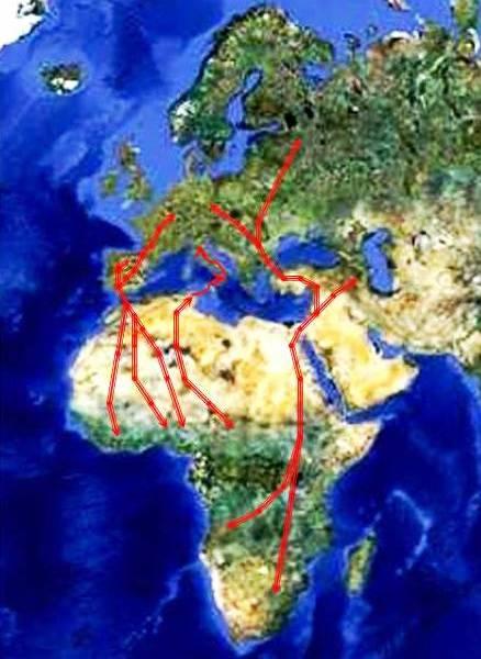 rotte migratorie