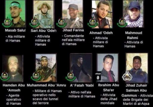 terroristi Gaza pesach 2018