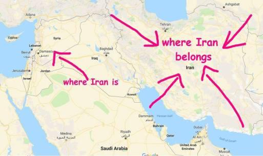 where iran