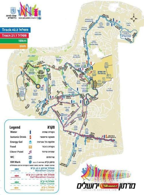 maratona Gerusalemme 1