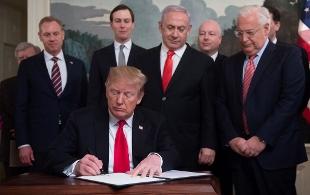 Trump Golan 1