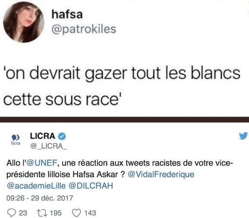 tweet Hafsa