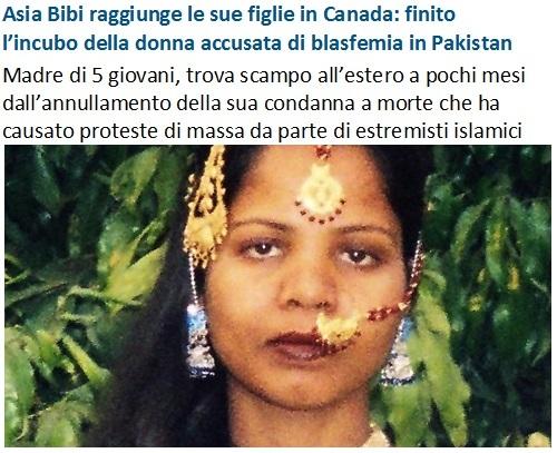 Asia Bibi libera