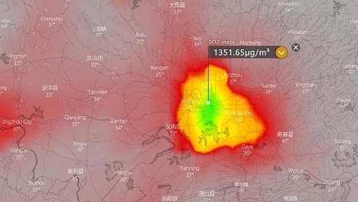 SO2 Wuhan
