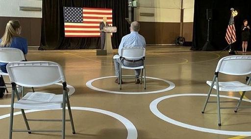 comizio Biden
