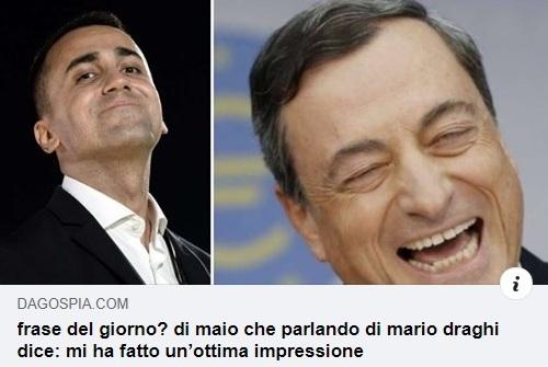 Di Maio Draghi
